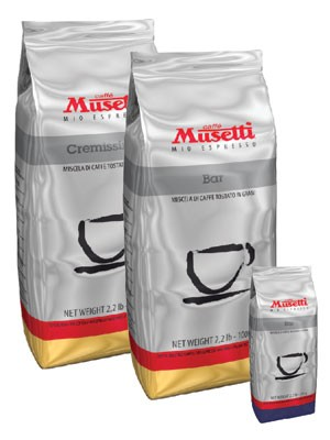 Musetti Bar 73% arabika, 27% robusta 1000g